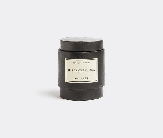 Mad & Len 'Monarchia' candle, Black Champaka