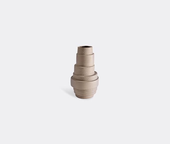 Atipico Pila Ceramic Vase - H.34 Cm.  -  Clay-Brown 1