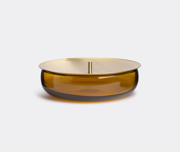 Nude 'Beret' storage box, medium amber