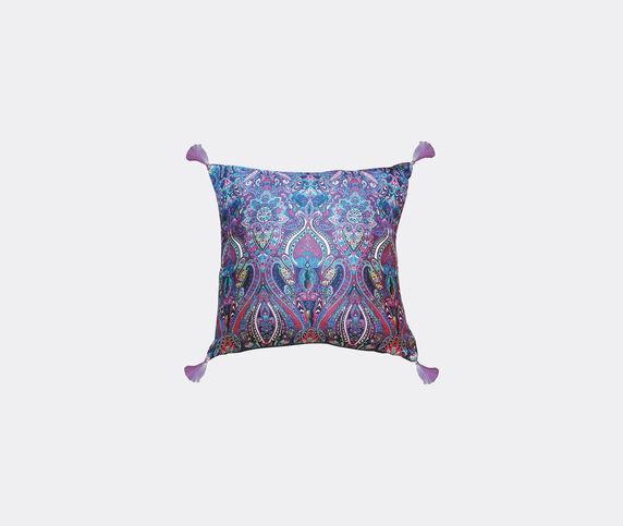 Les-Ottomans Silk cushion, paisley