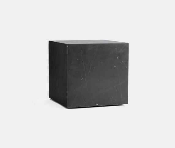 Menu Cubic 'Plinth', black marble