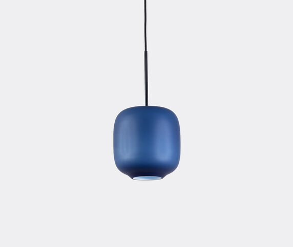 Cappellini 'Arya' hanging lamp, small, blue, EU plug