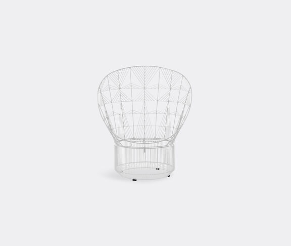 Bend Goods 'Peacock Lounge Chair', white