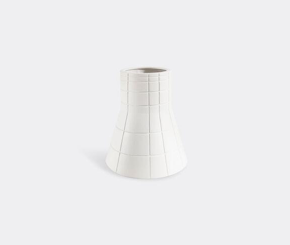 Atipico Rikuadra Decorative Vase - Mm. Ø 220/145Xh 270 - Signal White 2