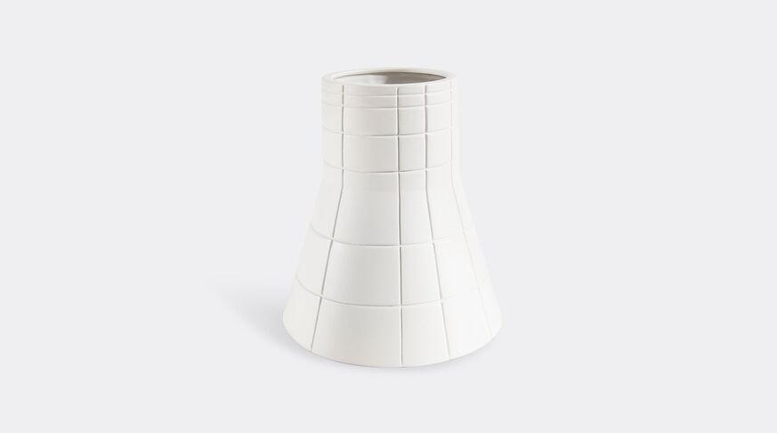 Atipico Rikuadra Decorative Vase - Mm. Ø 220/145Xh 270 - Signal White 1