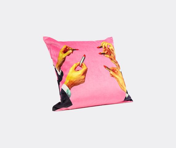 Seletti 'Lipsticks' cushion, pink