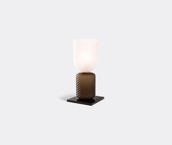 Cassina 'Ficupala' Table lamp, black and pink, EU plug