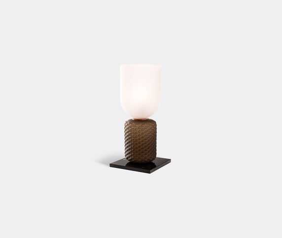 Cassina 'Ficupala' Table lamp, black and pink, US plug