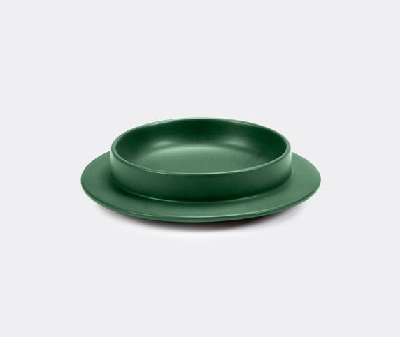 Valerie_objects 'Dishes to Dishes' plate, moss garden