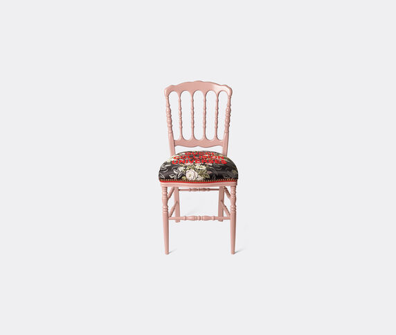 Gucci 'Francesina' chair, pink and black