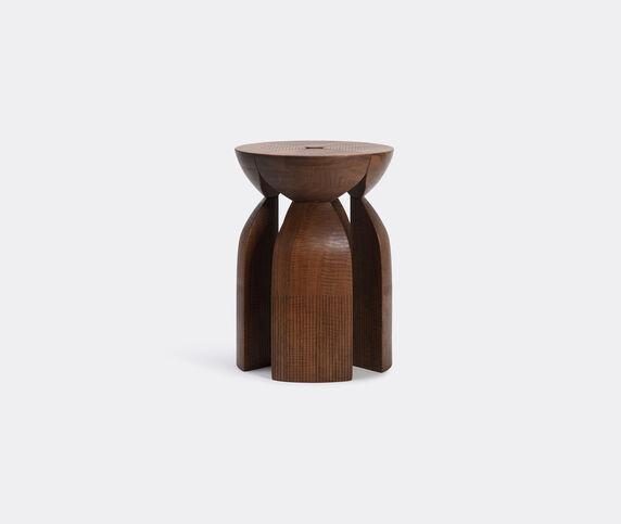 Zanat 'Unity' stool, walnut