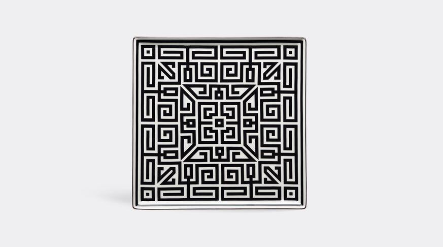 Ginori 1735 Labirinto Vide Poche Squared Plate Cm 30 In. 12 1