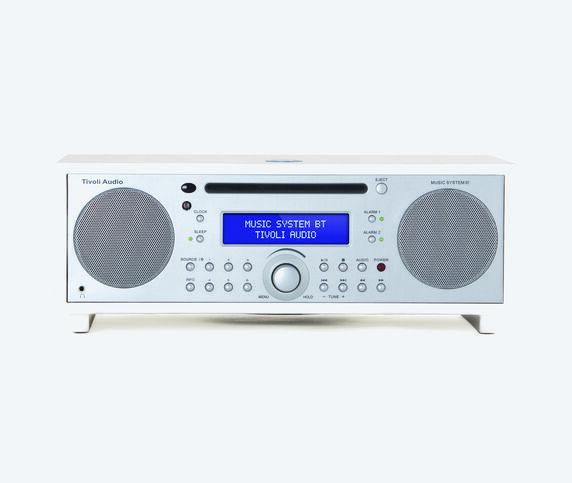 Tivoli Audio 'Music System BT' white, EU plug