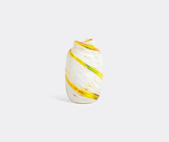 Hay 'Splash' vase, medium, lemon swirl