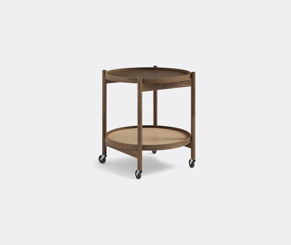Brdr. Krüger 'Bølling' tray table, 500mm, fumed oak
