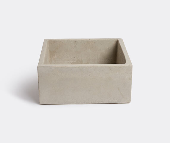 Serax Cement pot with holes square
