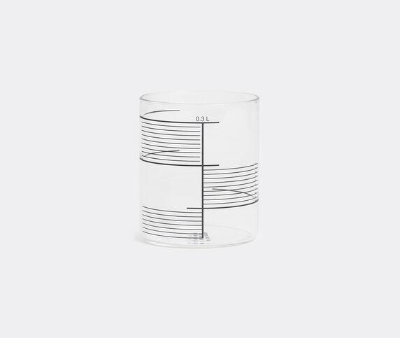 Tre Product Set of four glasses, square stripes