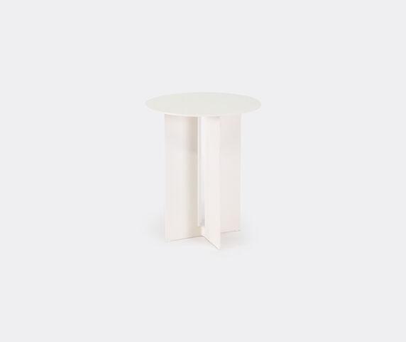 New Format Studio 'Mers' side table, cream