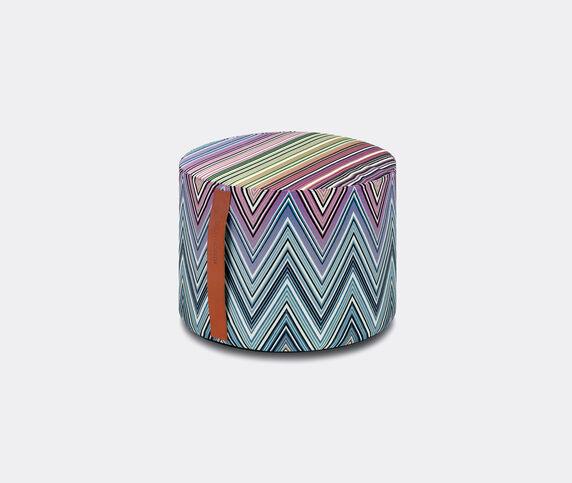 Missoni 'Kew' pouf, small, blue