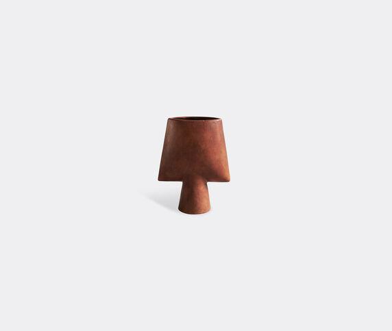 101 Copenhagen 'Sphere' mini vase, square, terracotta