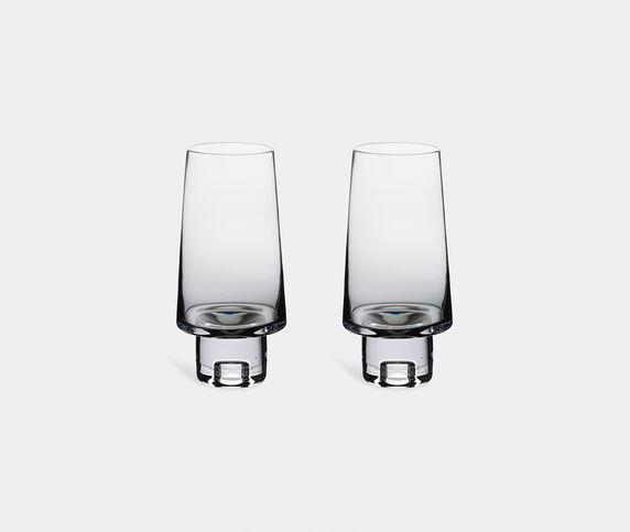 Tom Dixon 'Tank' high ball glasses, set of two, black