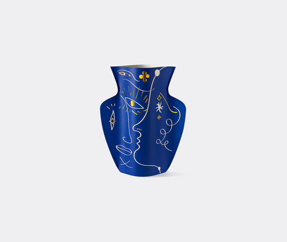 Octaevo 'Vasage' paper vase, blue