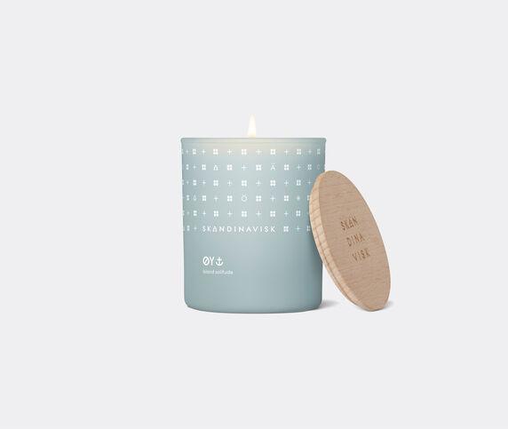 Skandinavisk 'Øy' scented candle with lid