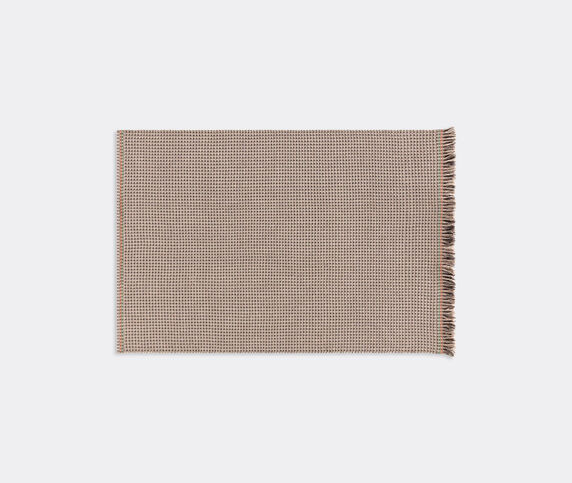 GAN 'Garden Layers Diagonal' rug, Terracotta