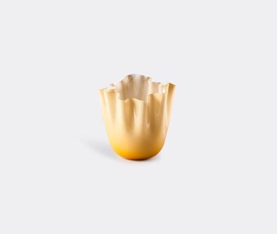 Venini 'Fazzoletto Opalino' vase, M, amber