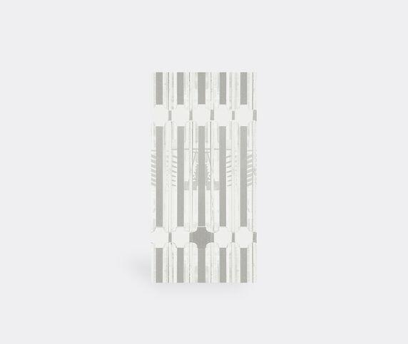 Wall&decò 'Ornate Ts' wallpaper, grey