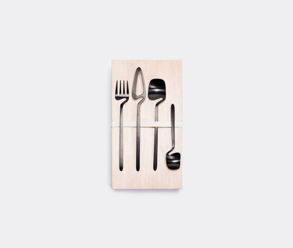 Valerie_objects Nendo 'Giftbox' set, black, 16 pieces