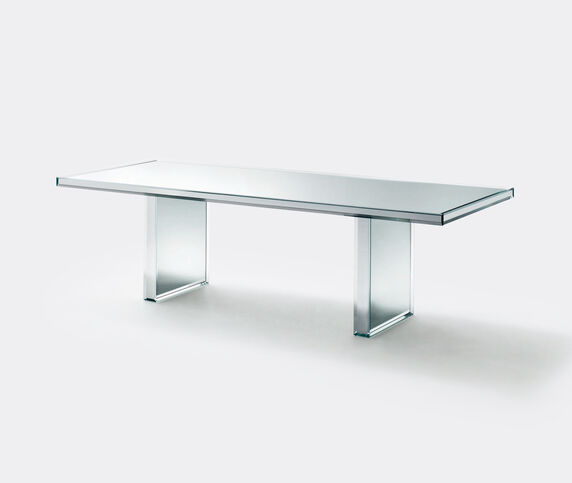 Glas Italia 'Prism' mirror table
