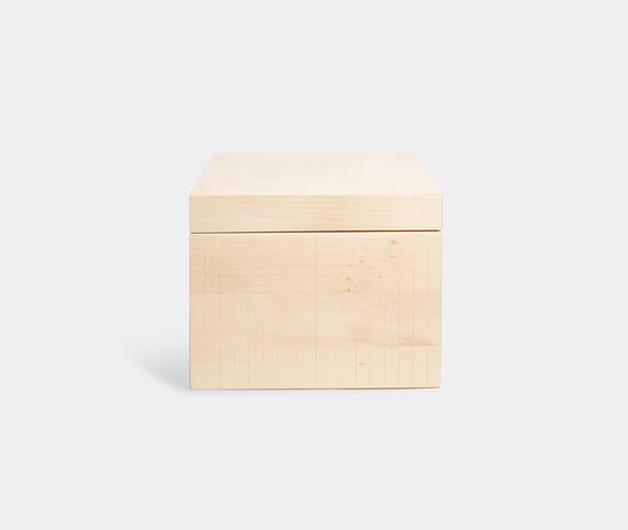Zanat 'Branco' box, small, beige