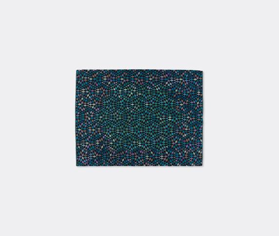 Golran 1898 'Diamond' medallion blue green carpet, medium