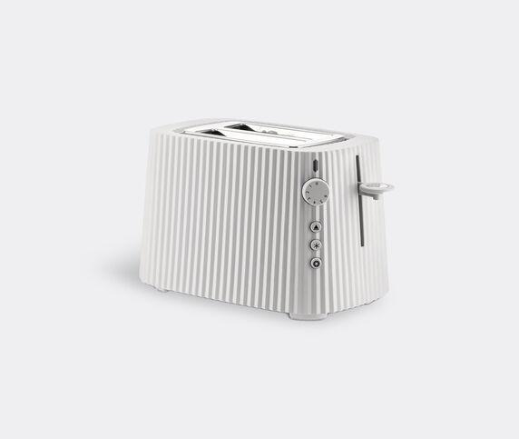 Alessi 'Plissé' toaster, white, EU plug