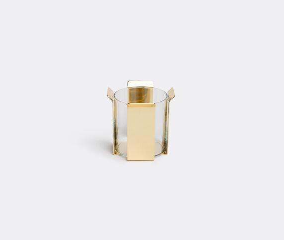 Marta Sala Éditions 'OB2 Tizio' vase, polished brass short