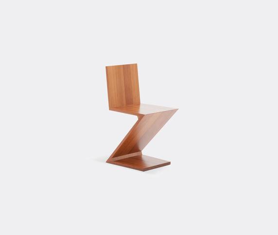 Cassina 'Zig-Zag' chair, natural cherrywood