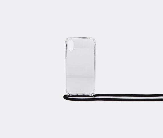 Wood'd iPhone X/Xs necklace case, black