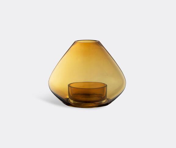 AYTM 'Uno' lantern and vase, amber, large
