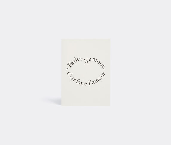 La Rêveuse 'Honoré de Balzac' greetings card