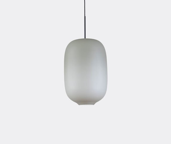Cappellini 'Arya' hanging lamp, large, grey, UK plug