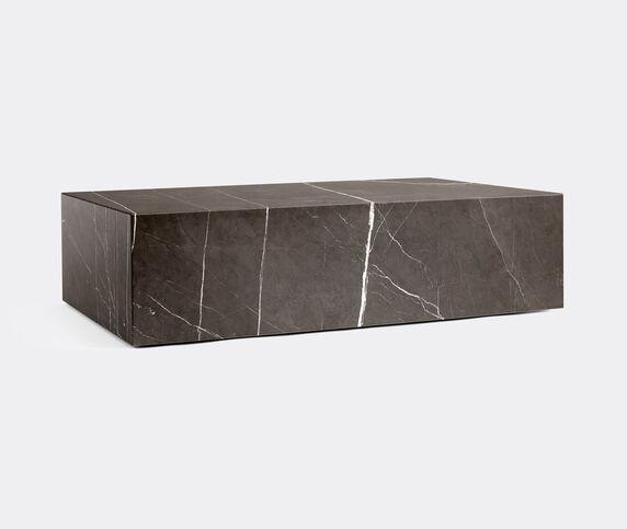 Menu Low 'Plinth', brown grey marble