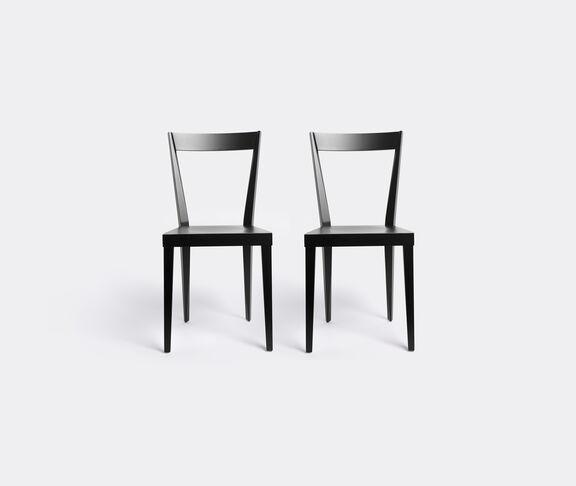 L'Abbate 'Livia' chair, black