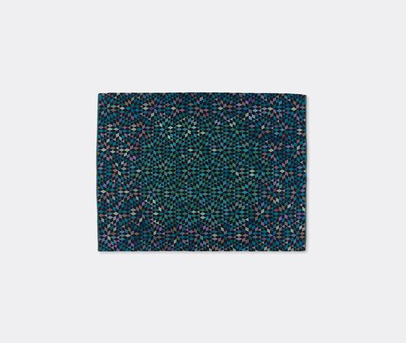 Golran 1898 'Diamond' medallion blue green carpet, large