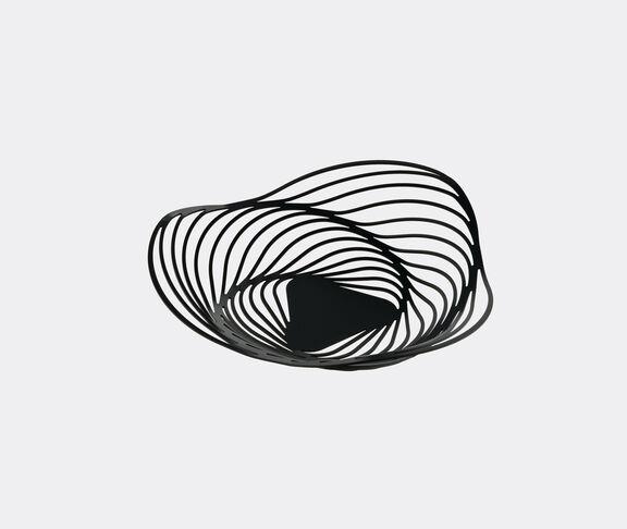 Alessi 'Trinity' fruit bowl, black