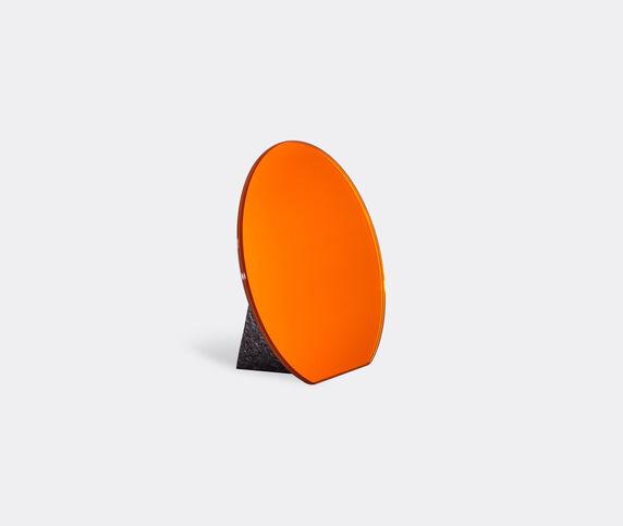 Pulpo 'Dita' table mirror, red