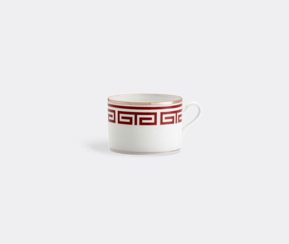 Ginori 1735 'Labirinto' teacup, set of two, red