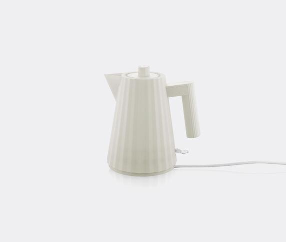 Alessi 'Plissé' electric kettle, white, EU plug