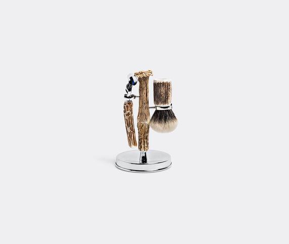 Lorenzi Milano Stag antler toilet shaving set