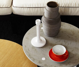 Atipico Pila Ceramic Vase - H.34 Cm.  -  Clay-Brown 5